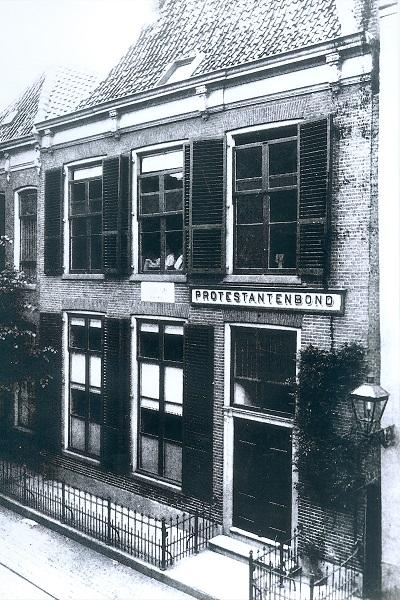 Thorbeckegracht 11 geboortehuis Thorbecke Zwolle