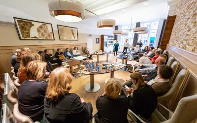 'Trendsetters in Business' over Staatshuys