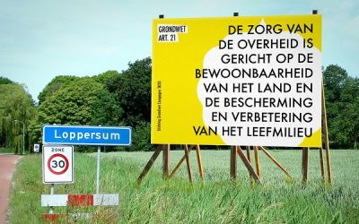 Geldt de Grondwet ook in Groningen?
