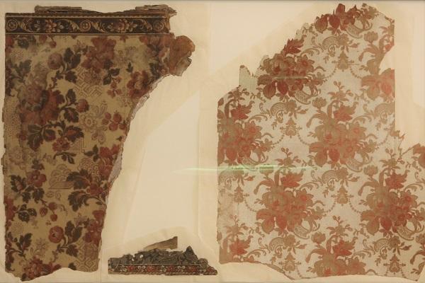 Geschiedenis geboortehuis Thorbecke behang fragmenten