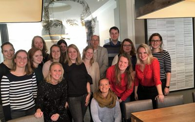 Trainees Talentenregio in Staatshuys